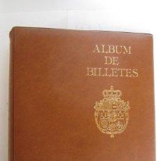 Material numismático: ÁLBUM PARA EL COLECCIONISMO DE BILLETES . Lote 114372663