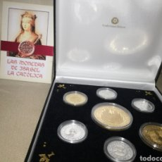 Material numismático: MONEDAS DE PLATA PURA 999, ACUÑACIONES IBÉRICAS.. Lote 115102606