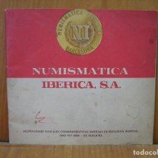 Material numismático: ANTIGUO CATALOGO NUMISMATICO IBERIA S.A. BARCELONA. Lote 118370391
