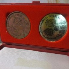 Material numismático: MEDALLA BANCO CAJA AHORROS SEDE MUNDIAL FUTBOL 1982 ELCHE ALICANTE. Lote 122863147