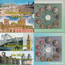 Numismatisches Material - España Spain 2014 2 Carteras Oficiales Euros ? Serie Autonomías Extremadura y Ga - 123591438