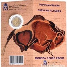 Numismatisches Material - España Spain 2015 Cartera Oficial Moneda 2? euros conmemorativos Altamira - 123591466