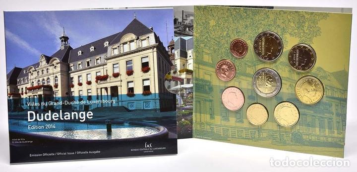MONEDAS EUROS LUXEMBURGO CARTERA 2014 (INCLUYE 2 EU CONMEMORATIVOS) (Numismática - Material Numismático)