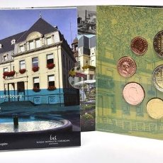 Material numismático: MONEDAS EUROS LUXEMBURGO CARTERA 2014 (INCLUYE 2 EU CONMEMORATIVOS). Lote 123592955