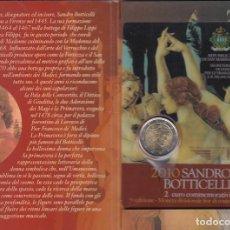 Material numismático: SAN MARINO 2 EUROS CONMEMORATIVOS (ESTUCHE OFICIAL) 2010. Lote 123593330