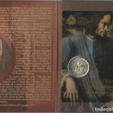 Material numismático: SAN MARINO 2 EUROS CONMEMORATIVOS (ESTUCHE OFICIAL) 2011. Lote 123593338