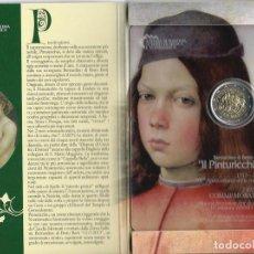 Material numismático: SAN MARINO 2 EUROS CONMEMORATIVOS (ESTUCHE OFICIAL) 2013. Lote 123593386