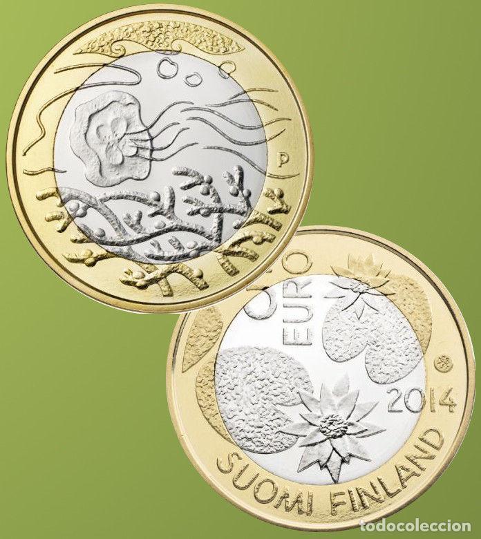 MONEDAS - ?UROS CONMEMORATIVOS DE EUROPA - FINLANDIA 5? 2014 (Numismática - Material Numismático)