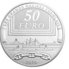 Material numismático: MONEDAS - ?UROS CONMEMORATIVOS DE EUROPA - FRANCIA 50? 2014 PROOF. Lote 123597244