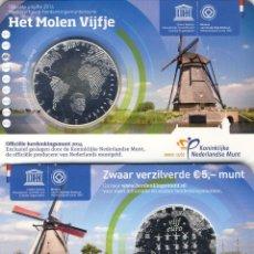 Material numismático: MONEDAS - ?UROS CONMEMORATIVOS DE EUROPA HOLANDA 5 EUROS 2014. Lote 123597392