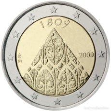 Material numismático: FINLANDIA 2009 2 ? EUROS CONMEMORATIVOS II CENT. AUTONOMÍA. Lote 123598620