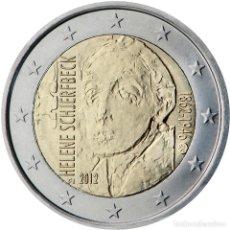 Material numismático: FINLANDIA 2012 2 ? EUROS CONMEMORATIVOS 150 AV HELENE SCHJERFBECK. Lote 123598664