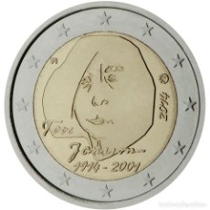 Material numismático: FINLANDIA 2014 2 ? EUROS CONMEMORATIVOS CENT DE TOVE JANSSON. Lote 123598680