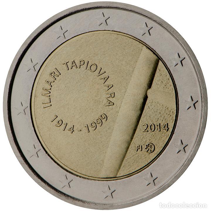 FINLANDIA 2014 2 ? EUROS CONMEMORATIVOS CENT DE ILMARI TAPIOVAARA (Numismática - Material Numismático)