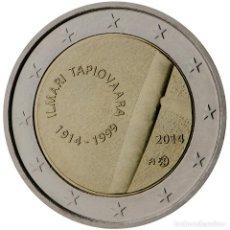 Material numismático: FINLANDIA 2014 2 ? EUROS CONMEMORATIVOS CENT DE ILMARI TAPIOVAARA. Lote 123598684