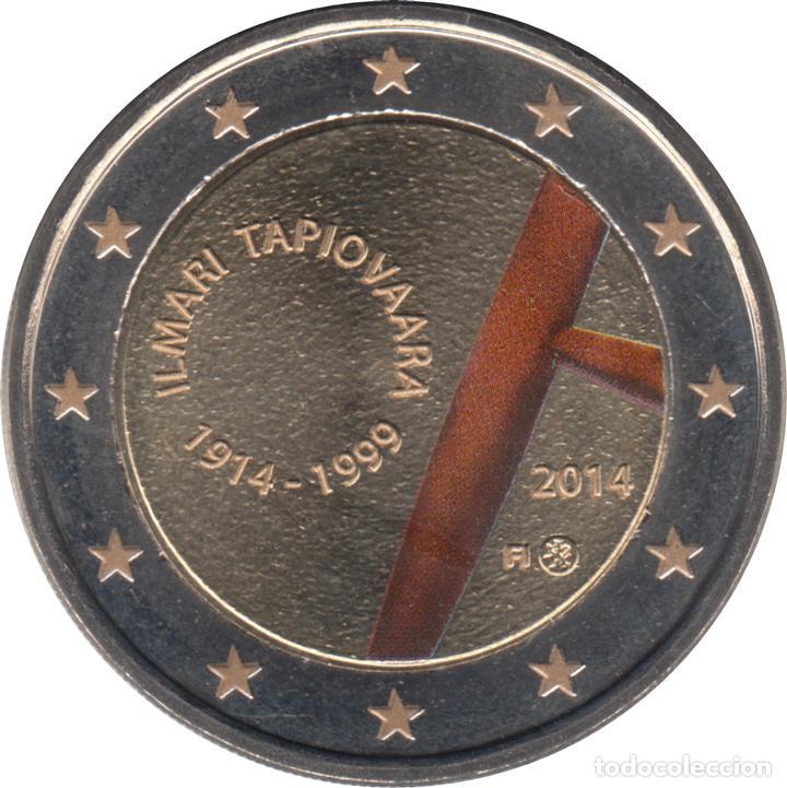 FINLANDIA 2 EUROS ? CONMEMORATIVOS 2014 TAPIOVAARA COLOR (Numismática - Material Numismático)