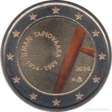 Material numismático: FINLANDIA 2 EUROS ? CONMEMORATIVOS 2014 TAPIOVAARA COLOR. Lote 123598692