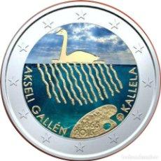 Material numismático: FINLANDIA 2015 2 ? EUROS CONMEMORATIVOS CENT ANKSELI GALLEN COLOR. Lote 123598704