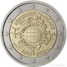 Material numismático: FRANCIA 2012 2 ? EUROS CONMEMORATIVOS X ANIVERSARIO DEL EURO. Lote 123598764
