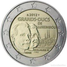 Material numismático: LUXEMBURGO 2012 2 ? EUROS CONMEMORATIVOS GRANDES DUQUES. Lote 123599372