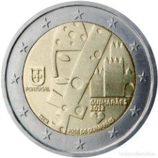 Material numismático: PORTUGAL 2012 2 ? EUROS CONMEMORATIVOS GUIMARAES CAPITAL CULTURAL. Lote 123599690