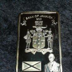 Material numismático: LINGOTE MONEDA JAMAICA LIQUIDACIÓN ULTIMAS UNIDADES.. Lote 143010240