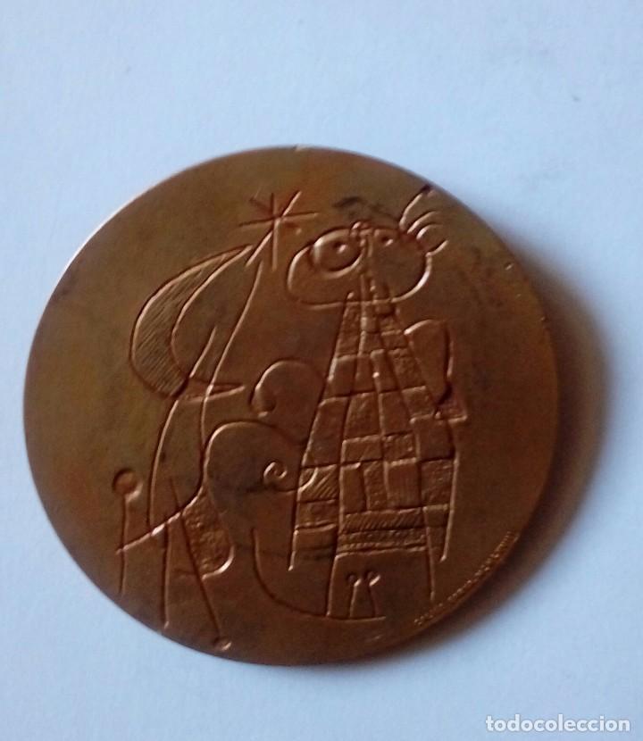 Material numismático: Medalla Joan Miró 1968 - Foto 2 - 126787331