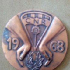 Material numismático: MEDALLA REUS TERRAGONA 50 ANIVERSARIO DEL CLUD DE NATACIÓN . Lote 126788907