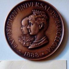 Material numismático: MEDALLA ENTIDAD ESPAÑOLA DE FINANZAS S.A 1987 BARCELONA. Lote 126790103