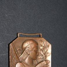 Material numismático: MEDALLA MASSA CORAL ORFEONICA - BENEDICCIO SENYERA - AÑO 1952. Lote 130955480