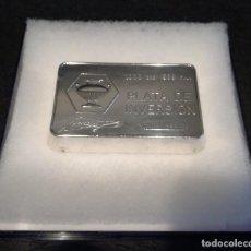 Material numismático: LINGOTE DE PLATA DURAN DE 1 KG. Lote 139479250