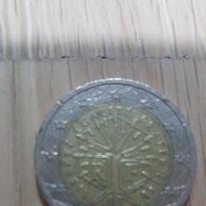 Material numismático: MONEDA 2 €. FRANCIA AÑO 2001. Lote 142268900