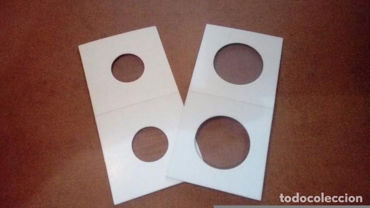 CARTONES PARA MONEDAS (Numismática - Material Numismático)