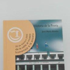 Material numismático: HISTORIA DE LA PESETA JOSE MARIA ALEDON. Lote 143137114