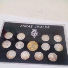 Material numismático: ARRAS REALES ,EN SU CAJA SIN ABRIR. Lote 143865898