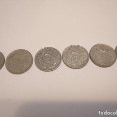 Material numismático: 6 MONEDAS DE 25 PESETAS DE FRANCISCO FRANCO. Lote 144892430