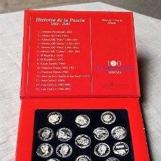 Material numismático: HISTORIA DE LA PESETA. 1869-2002. Lote 147207246