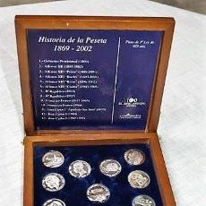 Material numismático: HISTORIA DE LA PESETA. 1869-2002. Lote 147207586