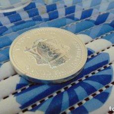 Material numismático: MONEDA DE PLATA PURA VERTIDA REPÚBLICA DEL CONGO (MON DE COLECCIÓN). Lote 147385570