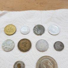 Material numismático: LOTE DE MONEDAS.MIRAR BIEN LAS FOTOS. Lote 151375936