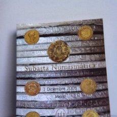 Material numismático: SUBASTA NUMISMATICA. JOSÉ A.HERRERO. NOV.2006. Lote 152909504