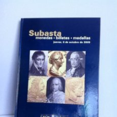 Material numismático: SUBASTA NUMISMATICA CAYON. TAPA DURA. LUJO 2005. Lote 152911149