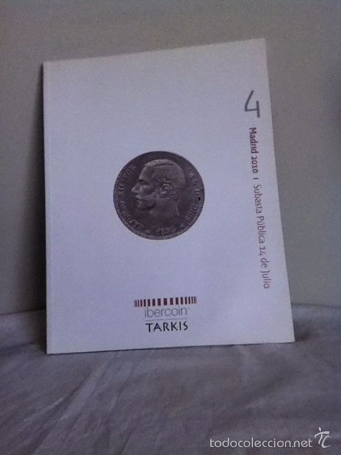 SUBASTA NUMISMATICA. IBERCOIN ( TARKIS) 2010 (Numismática - Material Numismático)