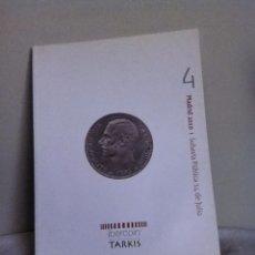 Material numismático: SUBASTA NUMISMATICA. IBERCOIN ( TARKIS) 2010. Lote 152911717