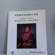 Material numismático: SUBASTA NUMISMATICA. COLECCIÓN MARIANA PINEDA. ÁUREO 2005. Lote 152919196