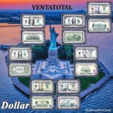Material numismático: ESTADOS UNIDOS COLECCION DE LINGOTES PLATA DE 1 - 2 - 5 - 10 - 20 - 50 Y 100 DOLARES PRESIDENTES. Lote 172296457