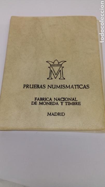 Material numismático: 6 monedas 100 50 25 5 1 0,50 pesetas y centimos con estuche y características - Foto 3 - 160621124