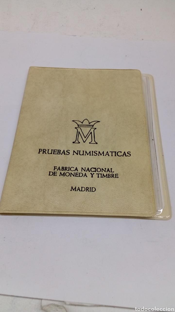 Material numismático: 6 monedas Pruebas numismática 1976 - Foto 2 - 156983417