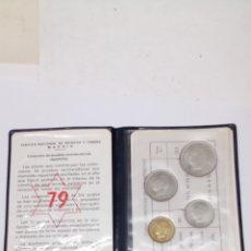 4 monedas Pruebas numismática