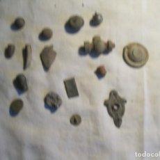 Material numismático: LOTE DE 16 PIEZAS DE BRONCE. Lote 158665138